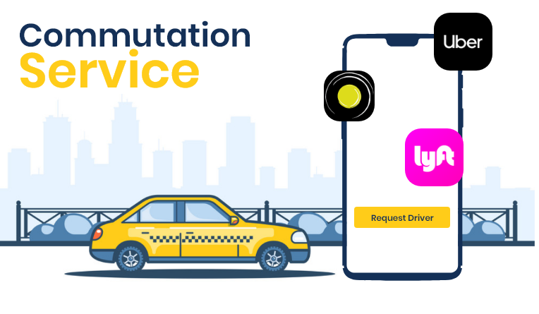 Commutation on Demand delivery Apps