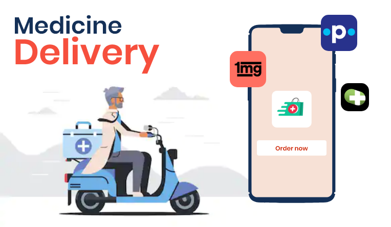 On Demand medicine delivery apps