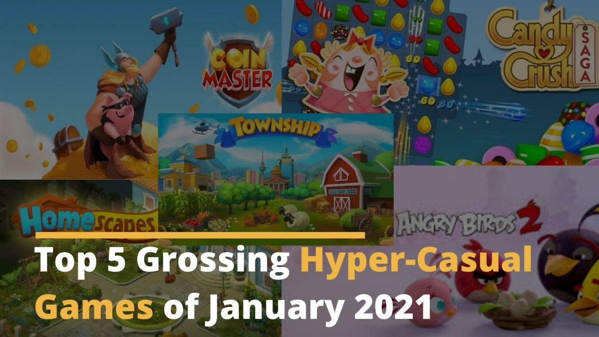 2021 top grossing hyper casual game
