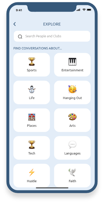 Clubhouse like app?
