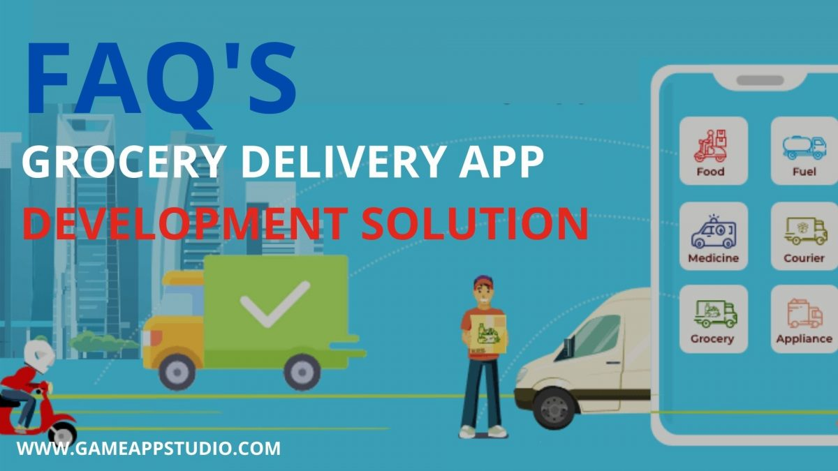 faq's of grocery delivery app development in USA