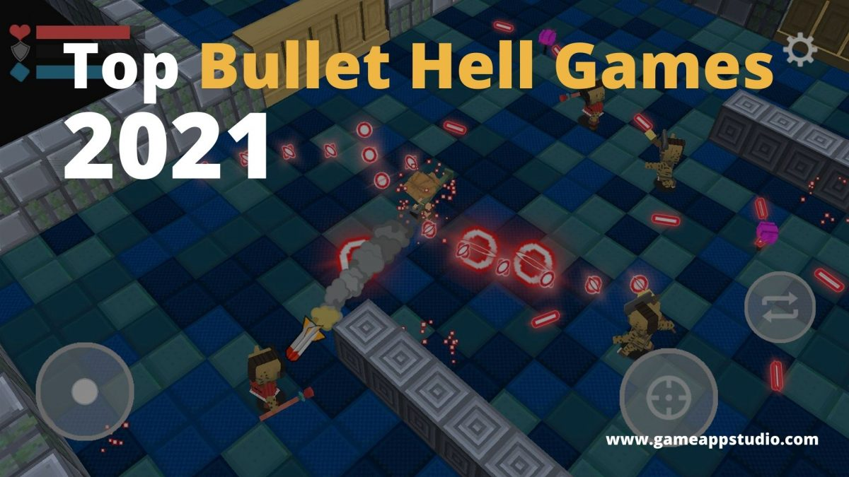 Top Bullet hell games of 2021