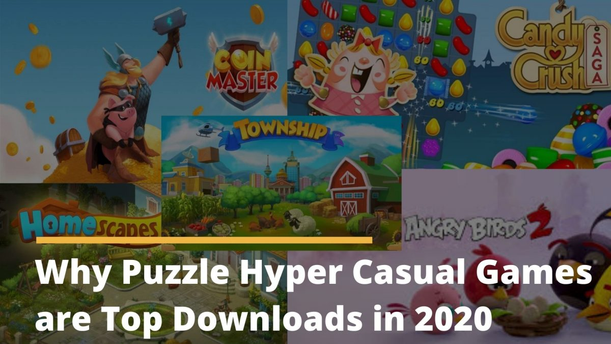 puzzle hyper casual game downloads 2020